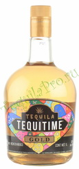 текила Текила Текитайм Голд 1 л текила Tequitime Gold 1 l